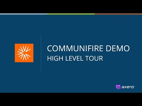 Communifire Demo - High Level Tour