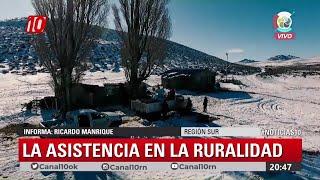 #Noticias10 | El invierno en las zonas rurales del Sur de #RioNegro