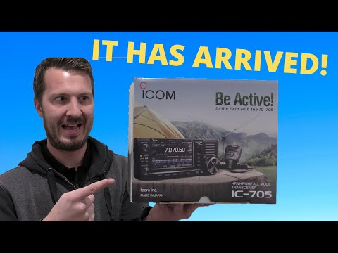 This Radio is AMAZING! The Icom IC-705 Unboxing and First Thoughts!