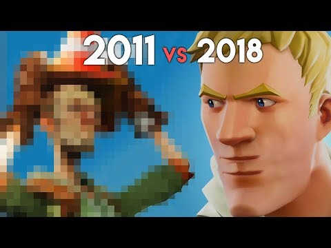 Fortnite 2011-2018: 7 MAJOR Changes In 7 Years