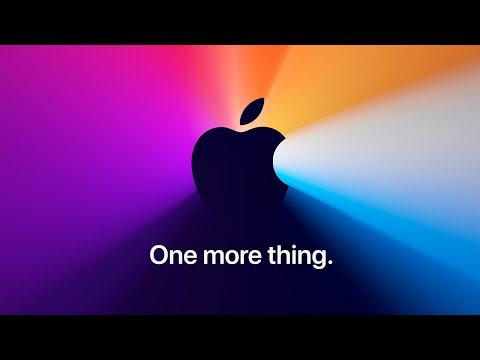 Apple Event — November 10