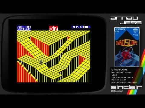 GYROSCOPE (Live Flunky) Zx Spectrum by Melbourne House