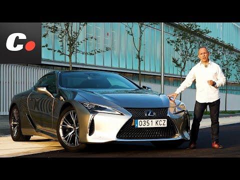 Lexus LC 500 2017 | Prueba / Test / Review en español | coches.net