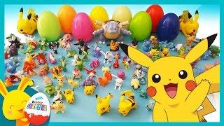 Pokemon Go - Jouets et oeufs surprises pour les enfants - Le défi PIKACHU - Touni Toys