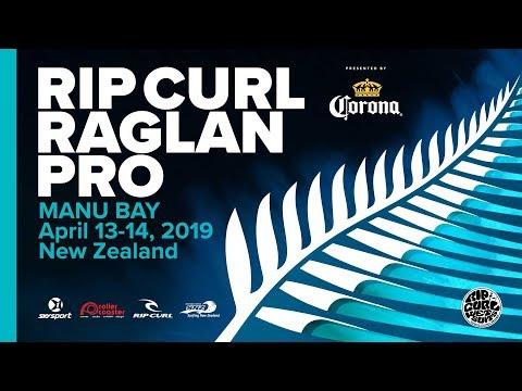 Rip Curl Raglan Pro 2019 | Finals Day | Manu Bay, New Zealand
