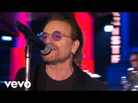U2 – Get Out Of Your Own Way – MTV EMA Performance