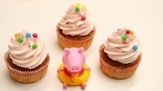 Recettes de cuisine : cuisinerapide CUPCAKE PEPPA PIG (CUISINERAPIDE) en vidéo
