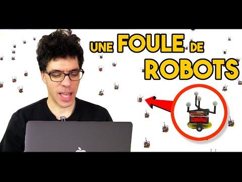 Comment fonctionne un ESSAIM de robots ? 🤖🤖🤖