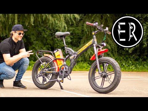 RACE READY FAT TIRE FOLDER! Green Bike Electric Motion Big Dog Off Road electric bike review 2020