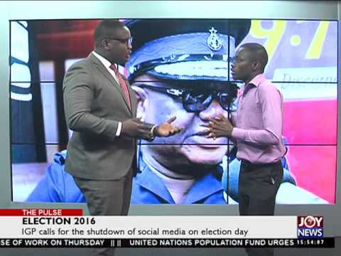 Election 2016 - The Pulse on Joy News (26-5-16)