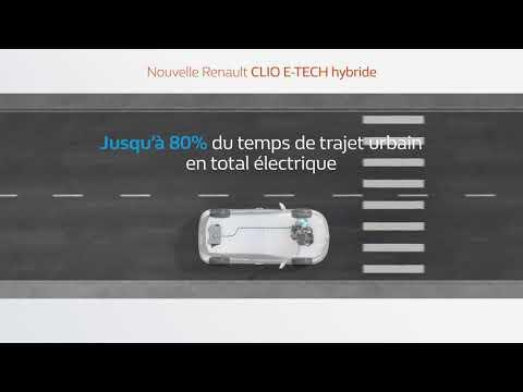 Nouvelle Renault CLIO E-TECH hybride : efficacité et plaisir de conduite