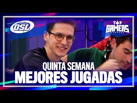 Las MEJORES JUGADAS de la QUINTA SEMANA | TOP GAMERS ACADEMY