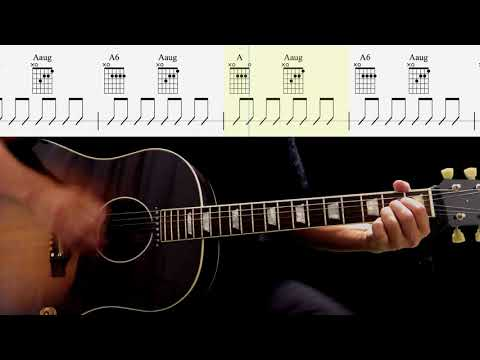 Guitar Score : I'll Be On My Way (Rhythm Guitar) - The Beatles