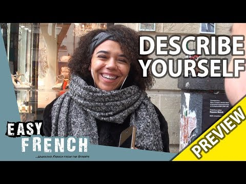 Describe yourself in 3 words (Trailer) | Easy French 93 photo