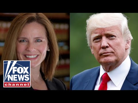 Trump met with potential SCOTUS nominee Amy Coney Barrett at White House: Rpt