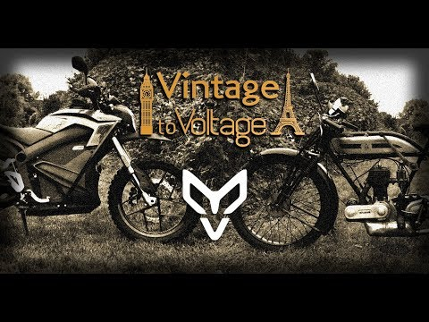 Vintage to Voltage - Paris to London (and back)