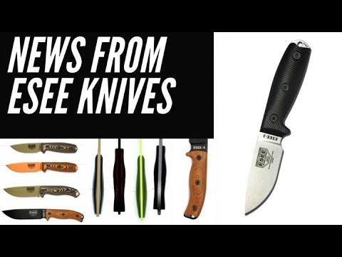 ESEE Knives Update: New Steel (S35VN), New Handles, & New Mystery Knife