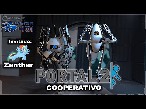 Portal 2 (2011)(Valve)(PC)   COOPERATIVO Invitado: Zenther   Gameplay   Retro