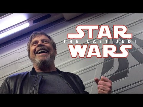 Mark Hamill's Disneyland Star Tours Surprise