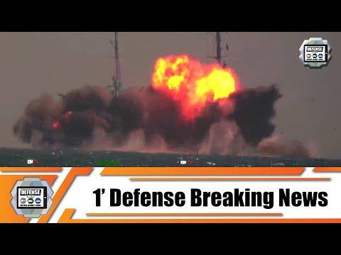 Turkish Navy successfully firing test of Atmaca anti-ship missile from TCG Kinaliada corvette