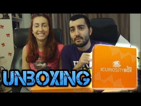 UNBOXING: Curiosity Box! Кутия пълна с научни неща :)