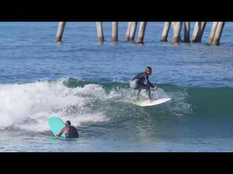 Huntington Pier Raw Footage March 28th 2018