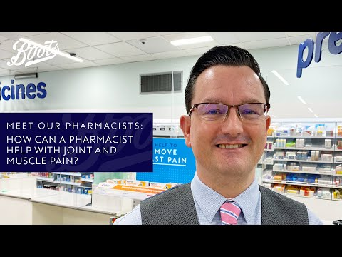 boots.com & Boots Promo Code video: Meet our Pharmacists | How can a Pharmacist help with joint & muscle pain? | Boots UK