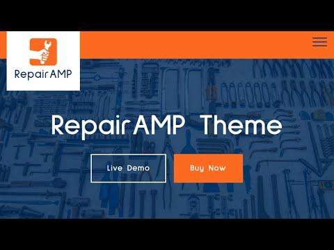 Repair Service HTML Template   RepairAMP