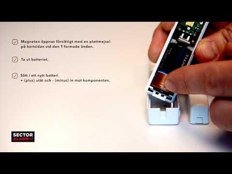 Batteribyte, Magnetkontakt, Domonial