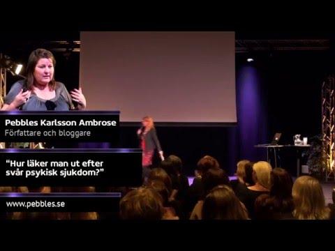 Pebbles Karlsson Ambrose föreläser (12min)