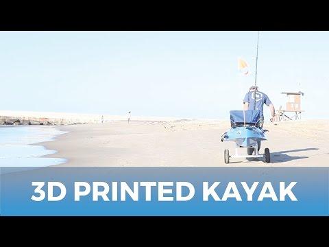 Customize Your Hobbies With 3D Printing // Custom Rigged Kayak