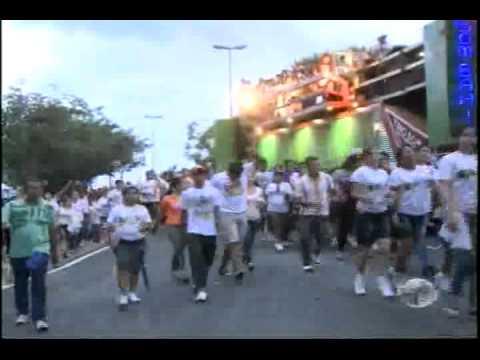 Milhares de fiéis na Marcha para Jesus 2011 – Teresina.