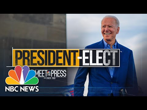 Meet The Press Broadcast (Full) – November 8th, 2020 | Meet The Press | NBC News