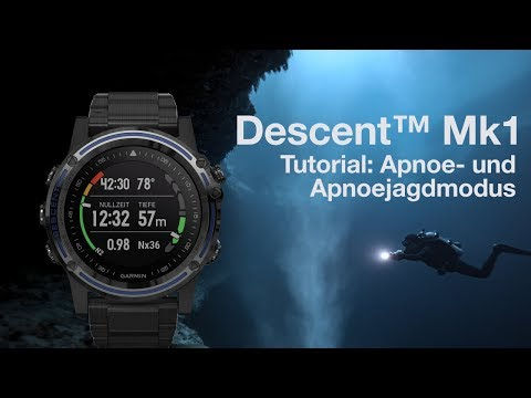 Descent™ Mk1 Tutorial - Tauchen im Apnoe- und Apnoejagdmodus
