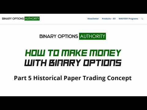 Best way to paper trade options
