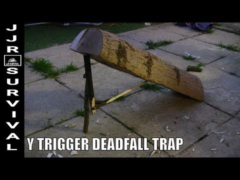 How To Make A Y Trigger Deadfall Trap