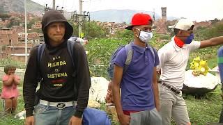 Ciudadanos venezolanos siguen regresando a su país  - Telemedellín