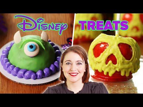I Tried To Recreate 4 Disney Halloween Treats ? Tasty