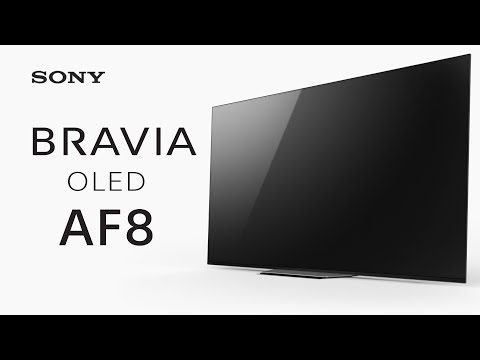 First Look: Sony BRAVIA OLED AF8 TV