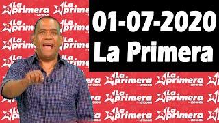 Resultados y Comentarios LOTERIA LA PRIMERA 01-07-2020 (CON JOSEPH TAVAREZ)