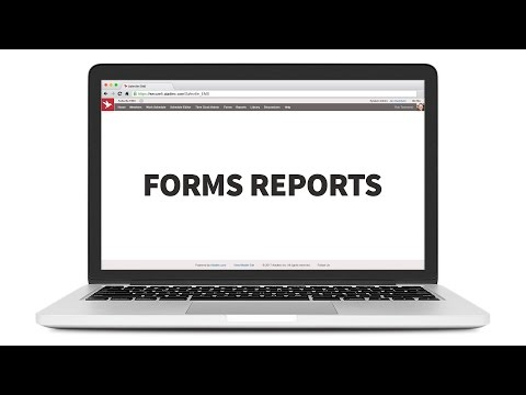 Forms Reports