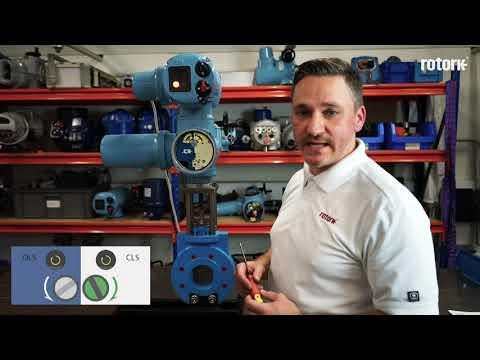 CK Range Actuator Commissioning