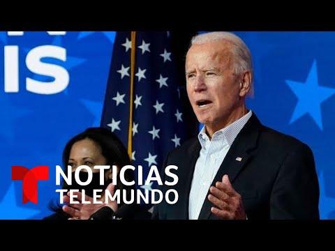 Joe Biden y Kamala Harris preparan sus discursos ante una posible victoria en las elecciones
