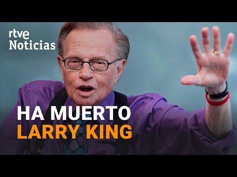 Muere LARRY KING, leyenda del PERIODISMO estadounidense a los 87 años I RTVE Noticias