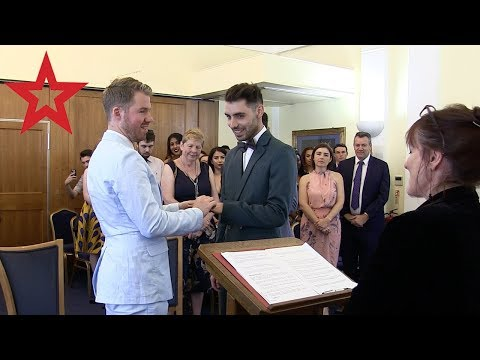 Brit-aussie couple Matt and James get a civil partnership
