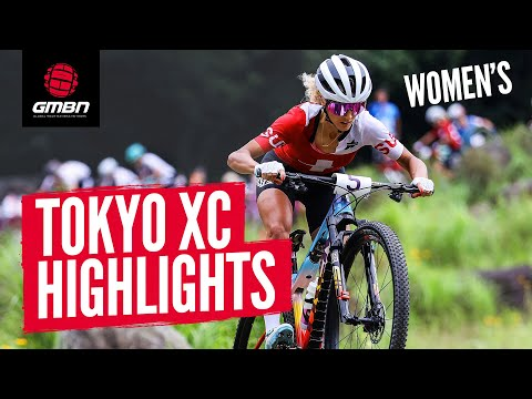 Cycling Women's Cross Country Race Highlights   Tokyo 2020