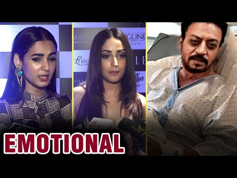 connectYoutube - Bollywood EMOTIONAL On Red Carpet About Irrfan Khan | Yami Gautam | Sonal Chauhan