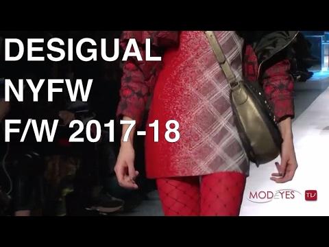DESIGUAL | FALL / WINTER 2017-18 | LIVE FASHION SHOW
