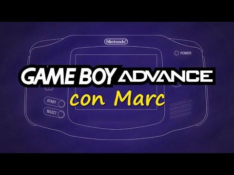 GAME BOY Advance con Marc