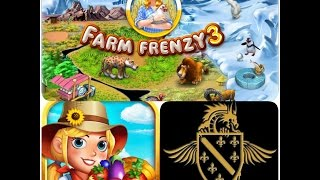 Farm Frenzy 3 Gameplay. (Live Commentary)